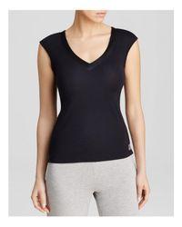 Calvin Klein | Black Sleeveless Pajama Top | Lyst