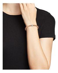 Roberto Coin | Pink 18k Rose Gold Primavera Stretch Bracelet With Diamonds | Lyst