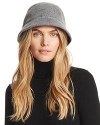 august hat company - Gray Melton Cloche - Lyst