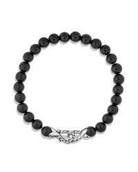 David Yurman - Spiritual Beads Black Onyx Bracelet for Men - Lyst