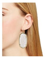 Kendra Scott - Metallic Danielle Earrings - Lyst