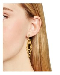Stephanie Kantis - Metallic Paris Triple Geometric Drop Earrings - Lyst