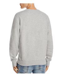 DIESEL - Gray S-joe-qb Sweatshirt for Men - Lyst