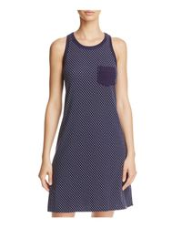 Jane & Bleecker New York | Blue Knit Chemise | Lyst