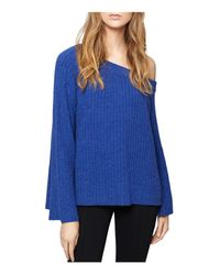Sanctuary - Blue Aurelia Bell-sleeve Sweater - Lyst