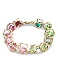 Atelier Swarovski - Multicolor X Mary Katrantzou Nostalgia Link Bracelet - Lyst