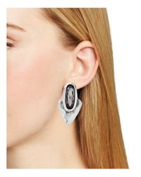 Uno De 50 - Metallic Arrow Me Earrings - Lyst