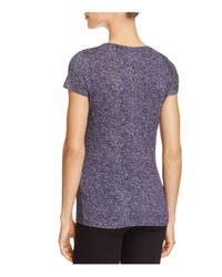 Majestic Filatures - Purple Short-sleeve Knit Top - Lyst