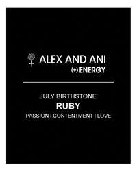 ALEX AND ANI - Yellow July Birthstone Bangle - Lyst