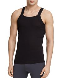 2xist | Black 2(x)ist Square Cut Tank, Pack Of 2 for Men | Lyst