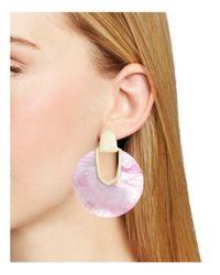 Kendra Scott - Pink Diane Earrings - Lyst