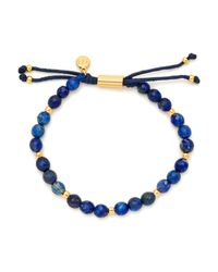 Gorjana - Multicolor Gold-tone Large Beaded Bracelet - Lyst