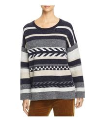 Weekend by Maxmara - Natural Uccio Striped Sweater - Lyst