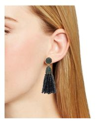 BaubleBar - Blue Annabelle Tassel Drop Earrings - Lyst