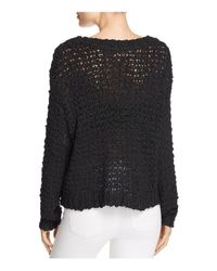 Band Of Gypsies - Black Pop Yarn Sweater - Lyst