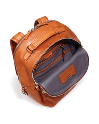 Shinola - Orange Runwell Backpack for Men - Lyst