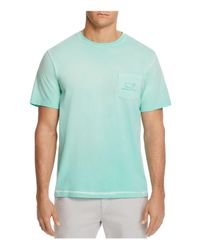 Vineyard Vines - Green Vintage Whale Pigment-dyed Tee for Men - Lyst