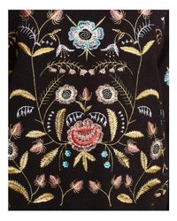 Lucy Paris - Black Embroidered Sweater - Lyst