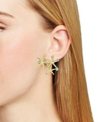 BaubleBar - Multicolor Syvota Starfish Cluster Stud Earrings - Lyst