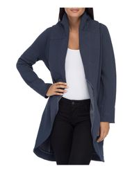 B Collection By Bobeau - Blue Peri Knit Open-front Jacket - Lyst