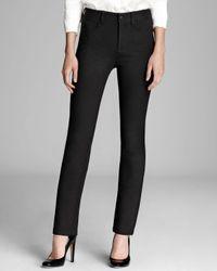 NYDJ | Black Five Pocket Basic Skinny Ponte Pants | Lyst