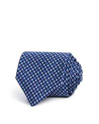 Ferragamo | Blue Floral Gancini Classic Tie for Men | Lyst