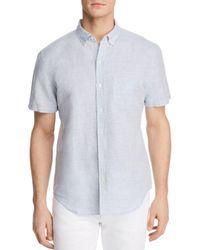 Bloomingdale's - Blue Regular Fit Button-down Shirt for Men - Lyst