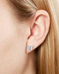 Olivia Burton - Metallic 3d Butterfly Stud Earrings - Lyst