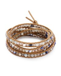 Chan Luu - Multicolor Mixed Stone Wrap Bracelet - Lyst