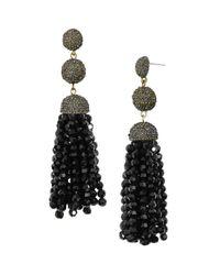 BaubleBar - Black Tinsley Tassel Drop Earrings - Lyst