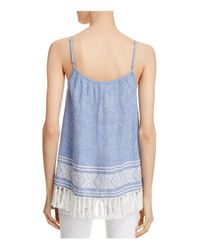 Soft Joie - Blue Agneza Tassel Top - Lyst