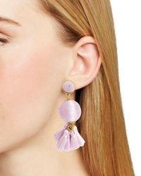 BaubleBar - Purple Samba Ball Drop Earrings - Lyst
