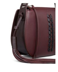 AllSaints - Multicolor Kepi Leather Crossbody - Lyst