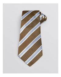 Armani | Gray Twill Stripe Classic Tie for Men | Lyst