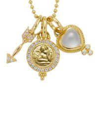 Temple St. Clair | Metallic 18k Yellow Gold Amor Gift Set | Lyst