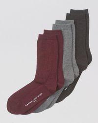 Falke - Multicolor Cosy Mid-calf Socks - Lyst