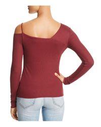 Ella Moss | Red Rhoda One-shoulder Top | Lyst