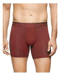 Calvin Klein - Red Body Modal Boxer Briefs for Men - Lyst