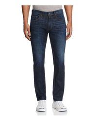 PAIGE - Blue Federal Slim Fit Jeans In Barker for Men - Lyst