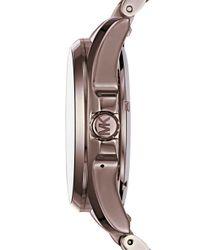Michael Kors - Brown 44.5mm - Lyst