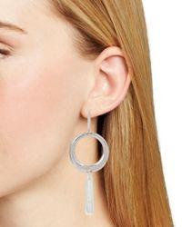 Robert Lee Morris - Metallic Gypsy Loop Drop Earrings - Lyst