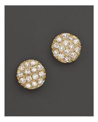Dana Rebecca - Metallic 14k Yellow Gold Diamond Lauren Joy Mini Earrings - Lyst