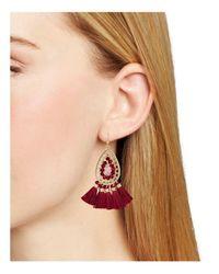 Aqua | Multicolor Drop Earrings | Lyst