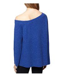 Sanctuary - Blue Aurelia Bell-sleeve Sweater - Lyst