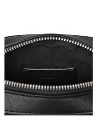 AllSaints - Black Cooper Small Leather Camera Bag for Men - Lyst