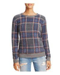 Soft Joie - Blue Maritza Plaid Sweater - Lyst