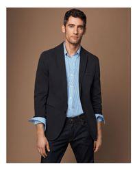 Polo Ralph Lauren - Blue Striped Poplin Shirt Classic Fit Button-down Shirt for Men - Lyst