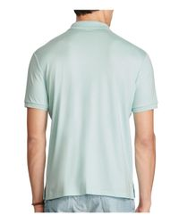 Polo Ralph Lauren - Blue Classic Fit Polo Shirt for Men - Lyst