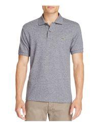 Lacoste - Blue Piqué Classic Fit Polo Shirt for Men - Lyst