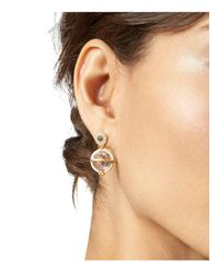 Freida Rothman - Metallic Orbit Drop Earrings - Lyst